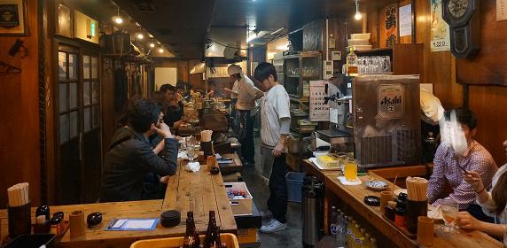 新宿歌舞伎町焼き鳥番番