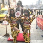 歌舞伎町新宿シネシティ広場でCR真・花の慶次2イベントに行ってきました|д゚)