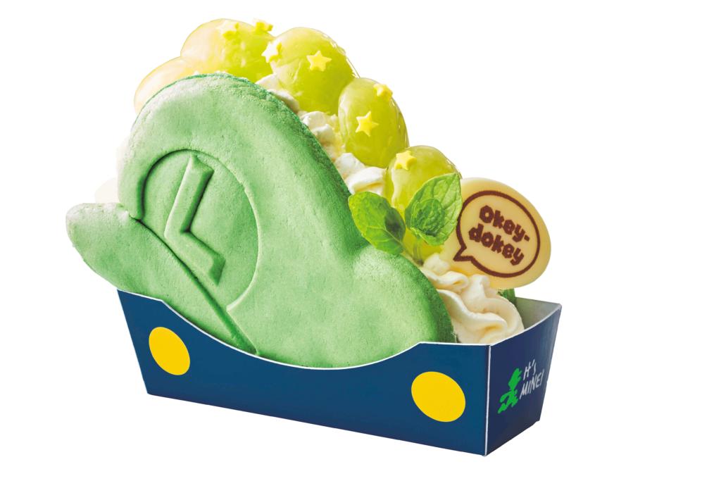 パンケーキ・サンド ルイージの帽子 ~ぶどうのレアチーズケーキ~