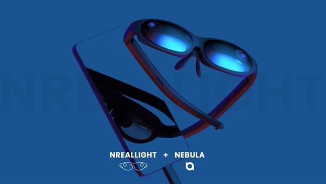 5G対応スマートグラスNrealLight